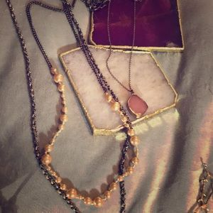 J.Crew and Anthropologie Necklace bundle